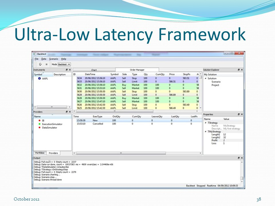 Ultra-low-latency trading systems