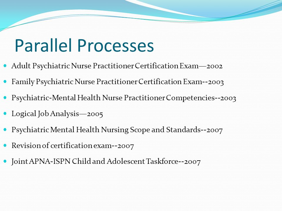 Psychiatric Nurse Certification Exam
