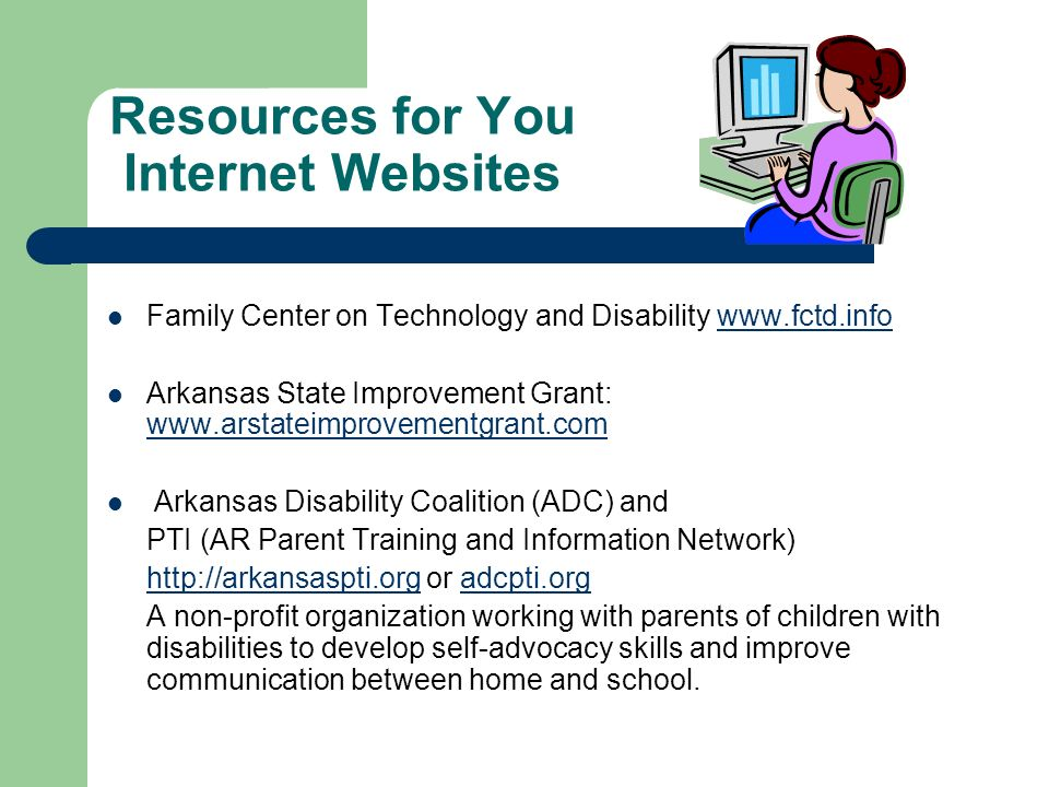 Resources for You Internet Websites