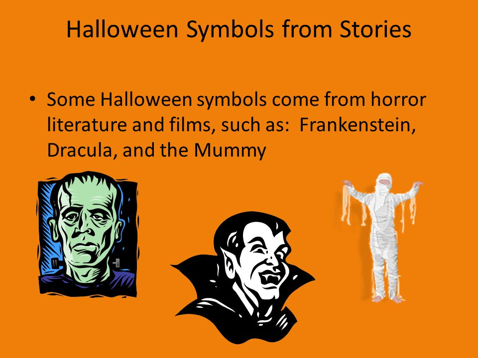 Halloween Symbols from Stories