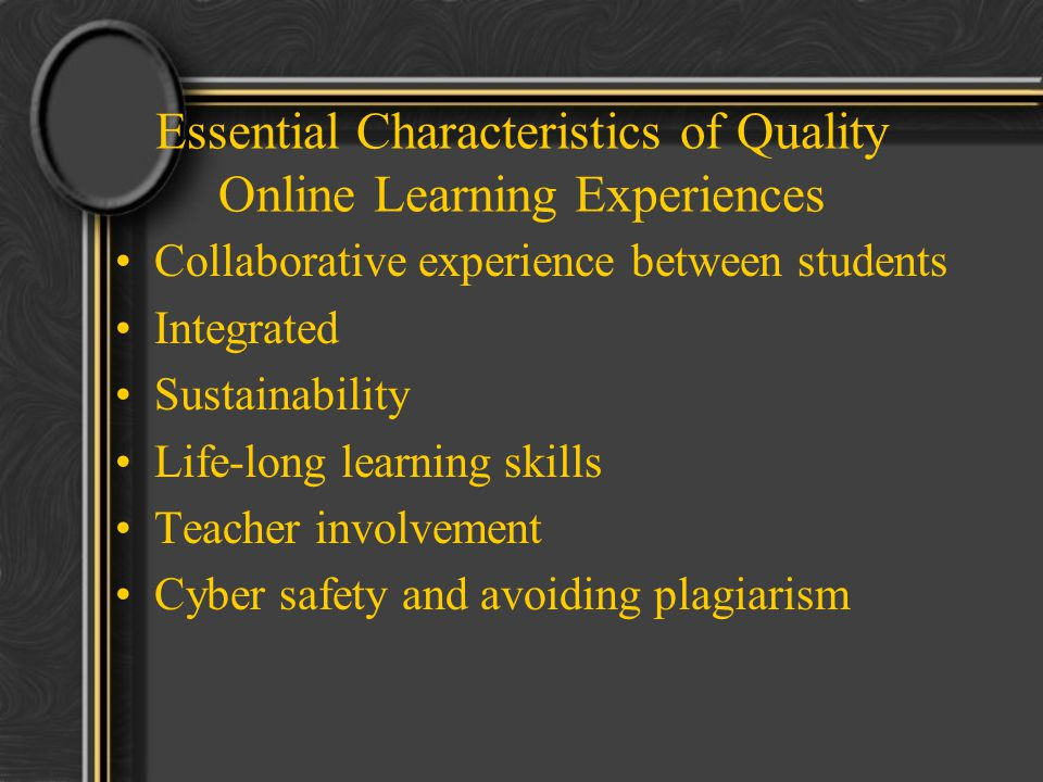 Collaborative Student Experience ~ Mi online learning experience ppt video download
