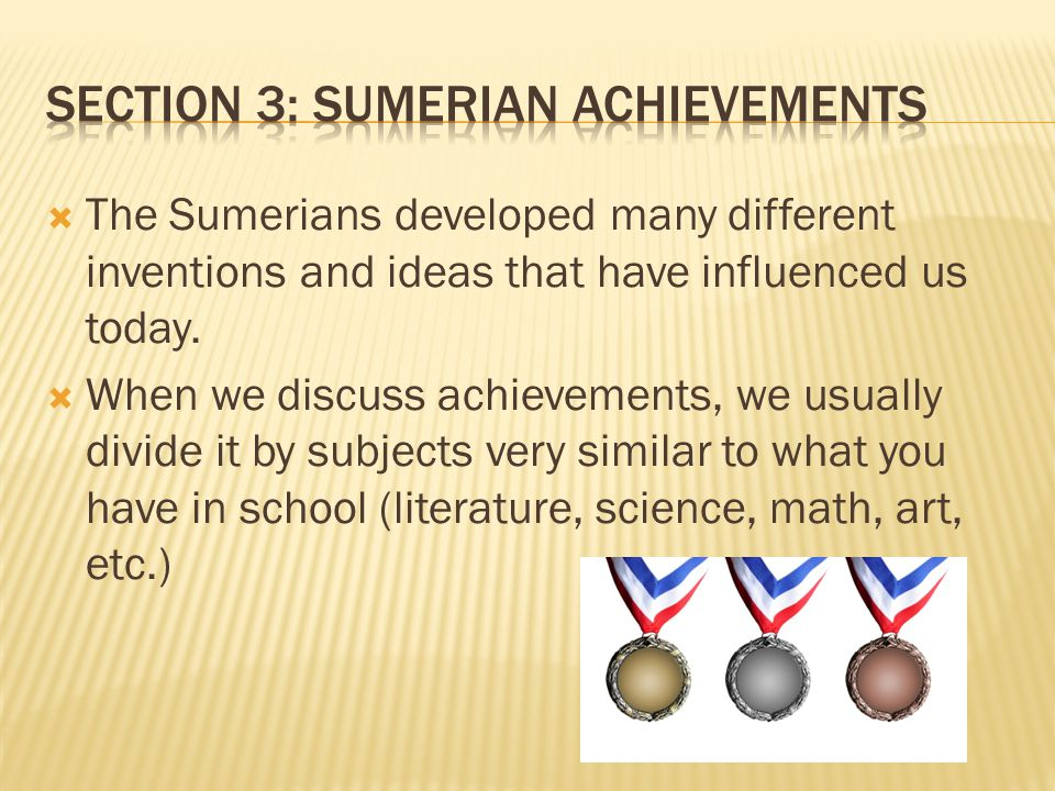 The Most Important Inventions of the Sumerian Civilization
