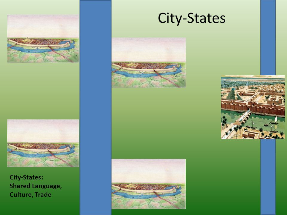 City-States City-States: Shared Language, Culture, Trade