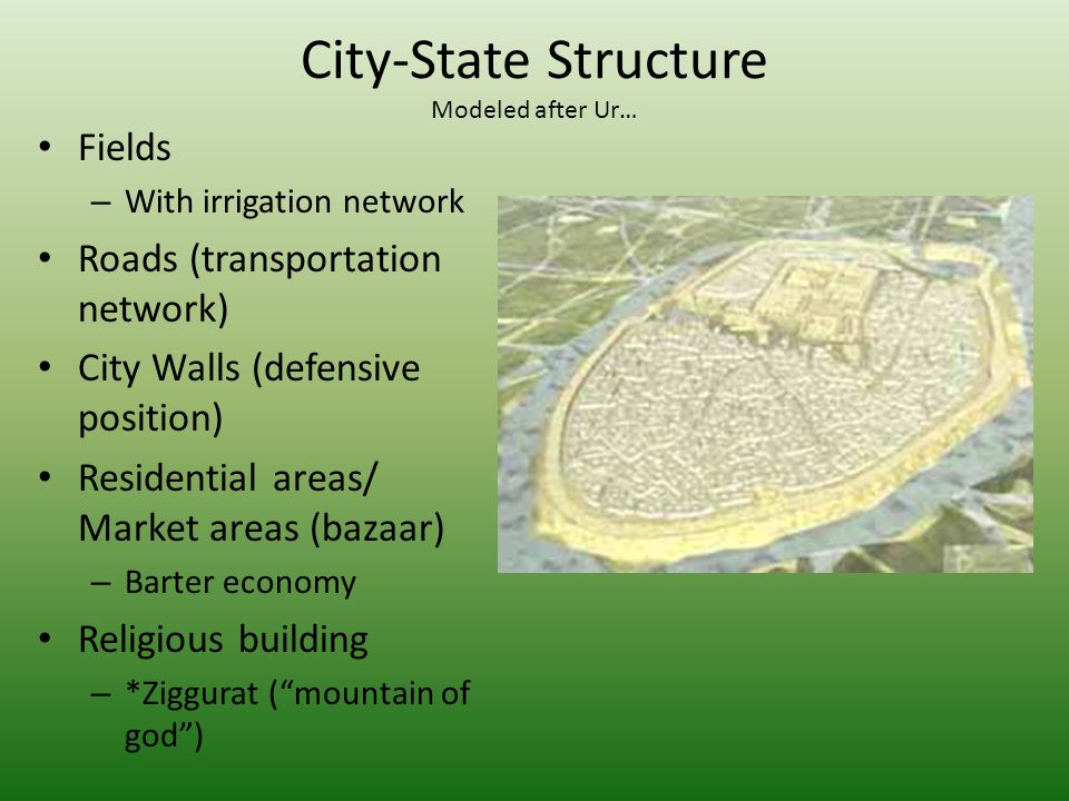 City-State Structure Modeled after Ur…
