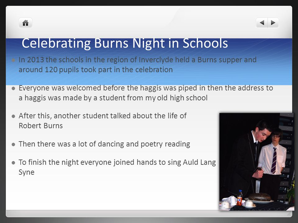 Celebrating Burns Night in Schools