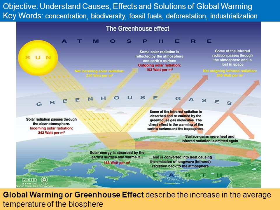How does global warming effect us?