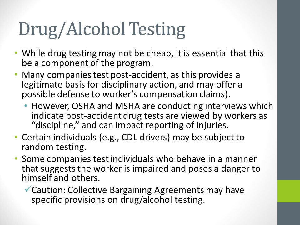The economic significance of drug testing in the workplace