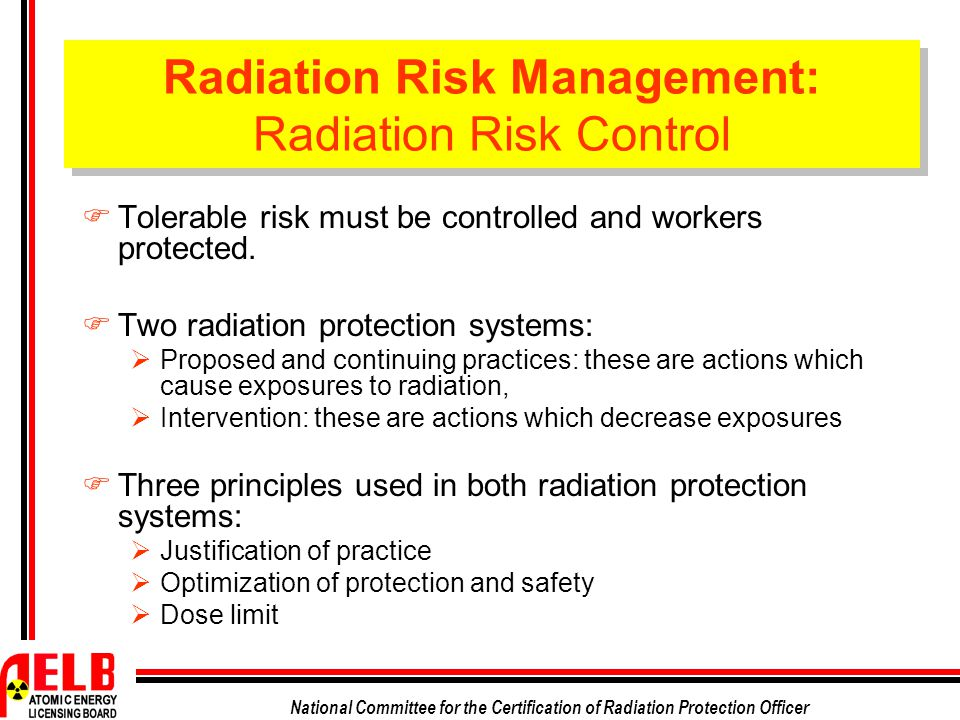 a study of radiation protection practices Radiological practices are the first anthropic sources of ionizing radiation   results from a survey among physicians of pavia district– italy.