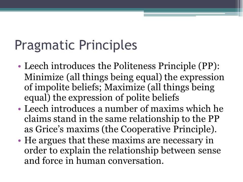 Politeness maxims: Wikis