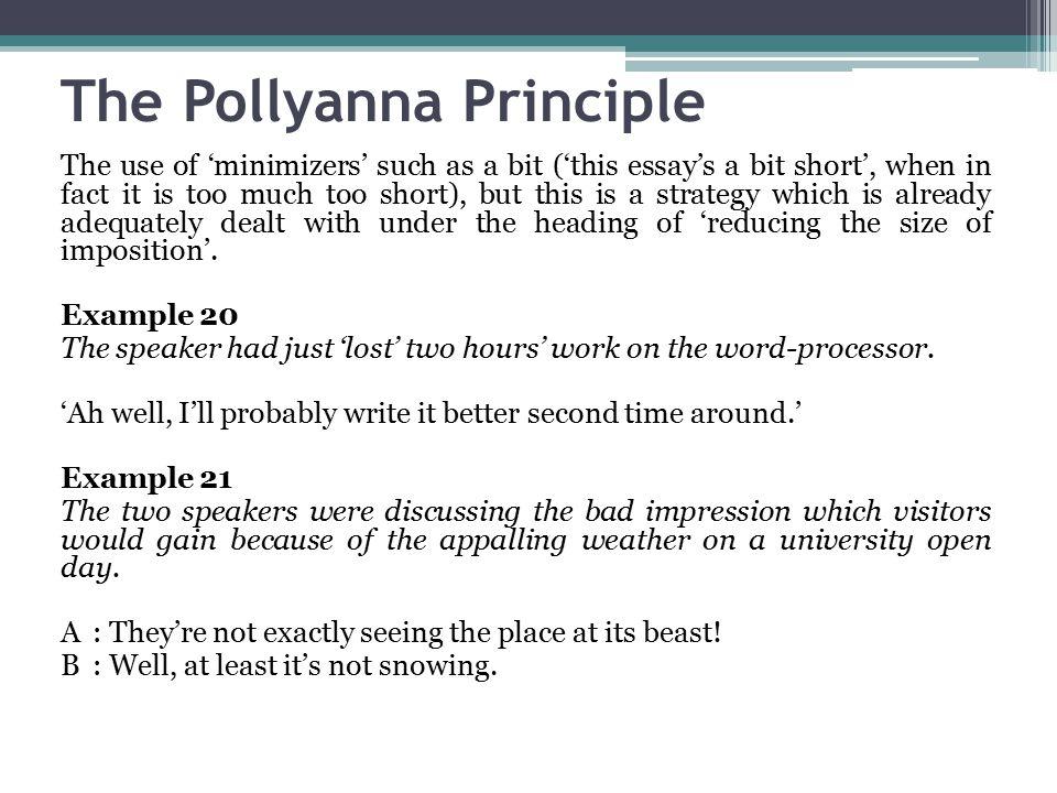 politeness definition essay