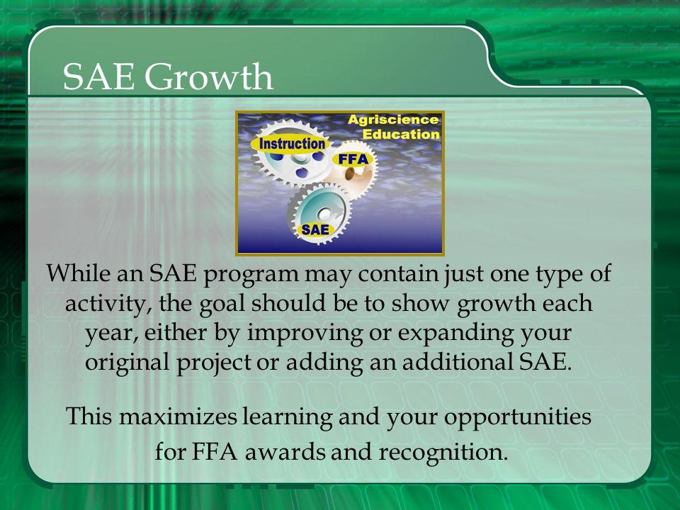 SAE Growth