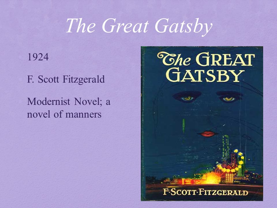 a contrast of two settings in the great gatsby a novel by f scott fitzgerald The great gatsby, by f scott fitzgerald is a very renowned novel being that this novel is so well known, there have been many people who have given their thoughts and opinions about it there are.