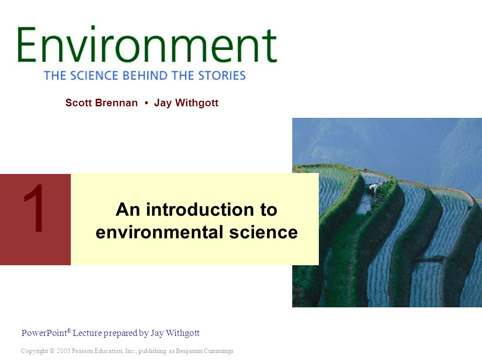 Ppt an introduction to environmental science chapters 1, 2, and.