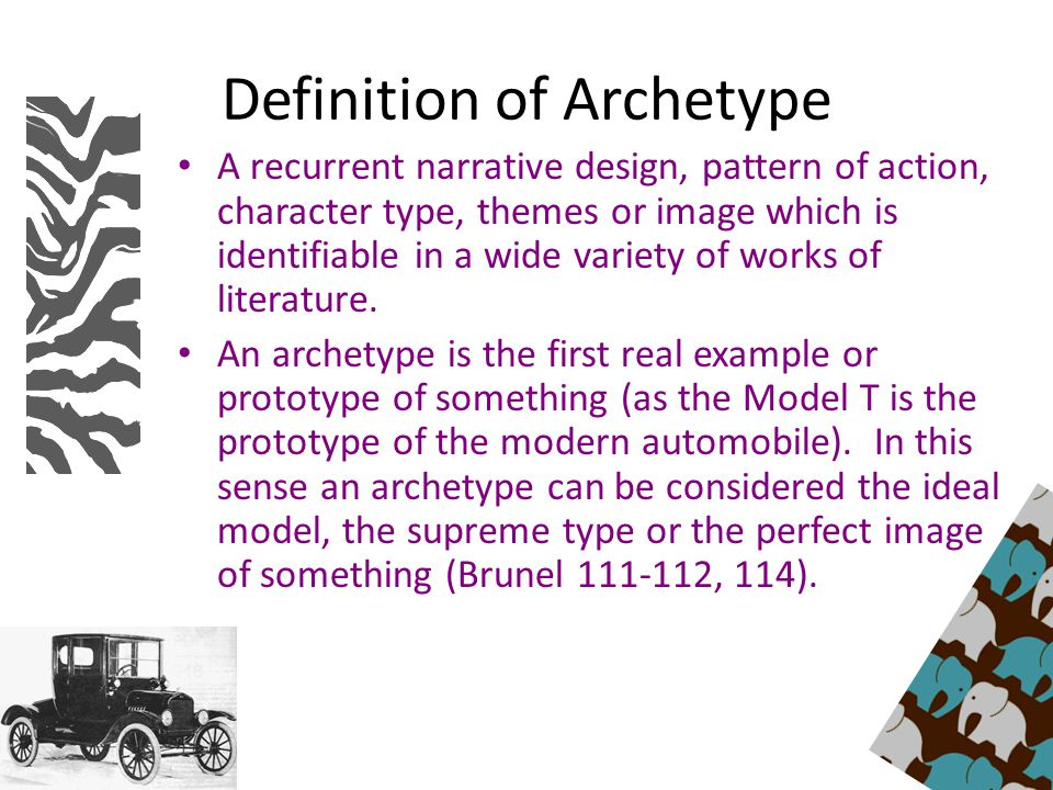 Definition Of Character Design : Archetypes in literature ppt video online download