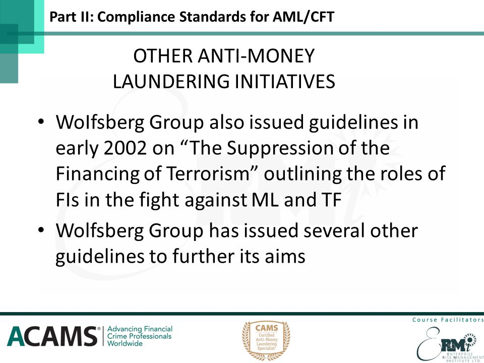 Anti-Money Laundering & Financial Crime - ppt download