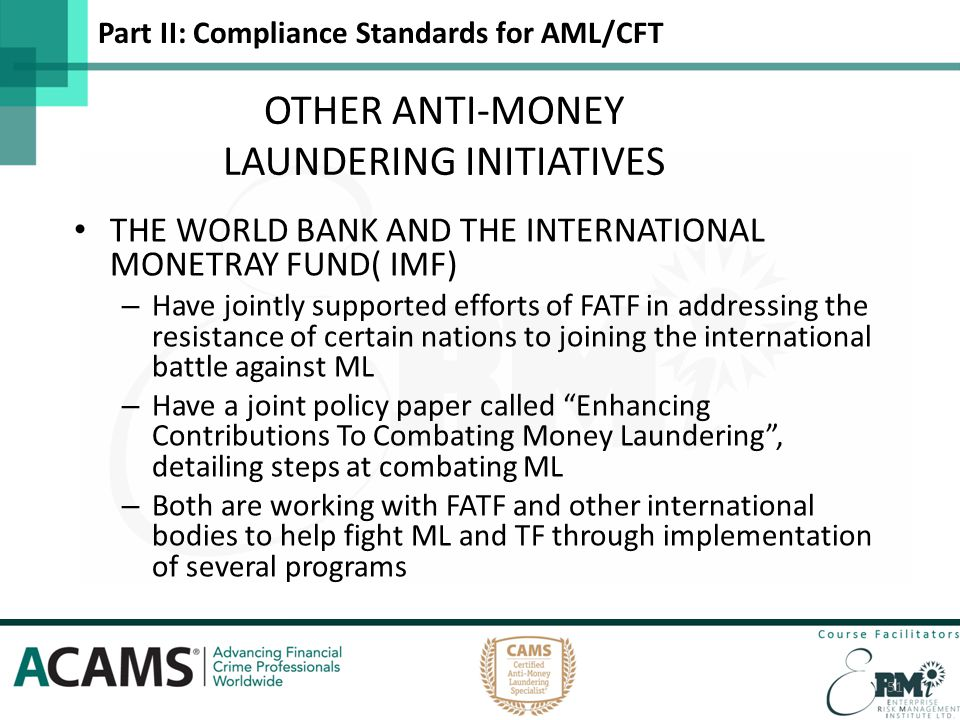 nigerian anti money laundering and combating The workshops with the theme effective implementation of anti-money laundering and combating the financing of terrorism (aml/cft) requirements in the npo sector in nigeria were one-day events respectively and aimed at sensitizing non-profit organisations on the nigerian anti-money laundering and combating the financing of terrorism regime.