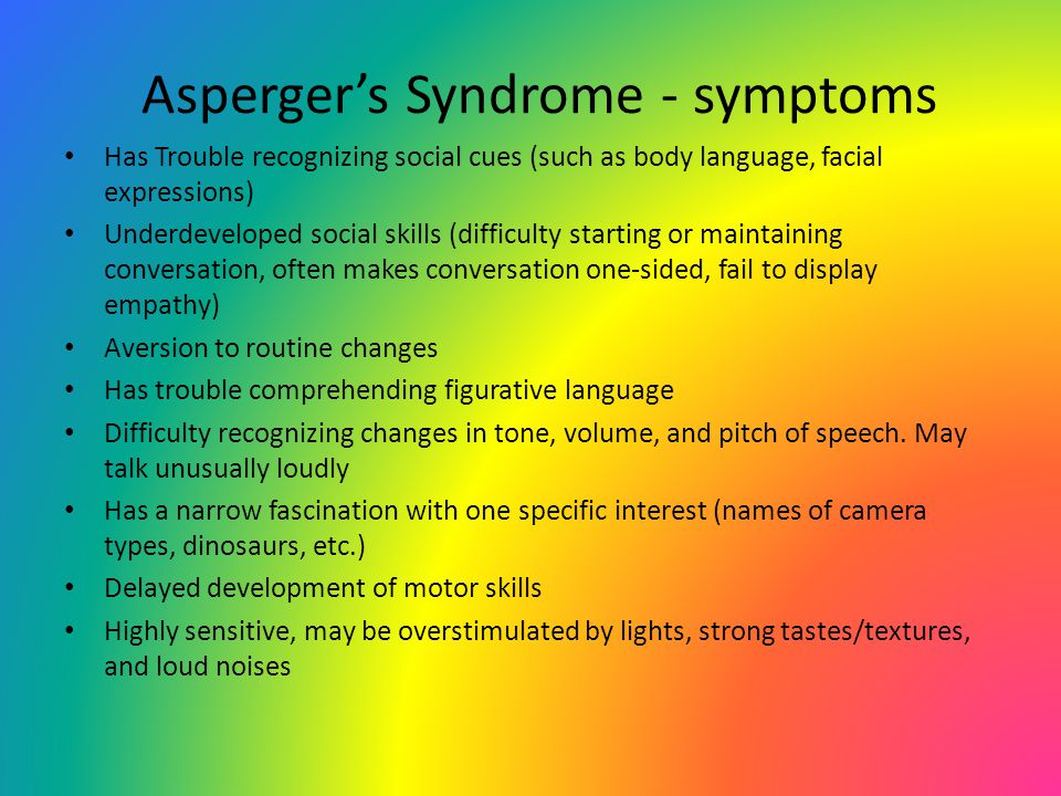 Myths and Truths Asperger Syndrome