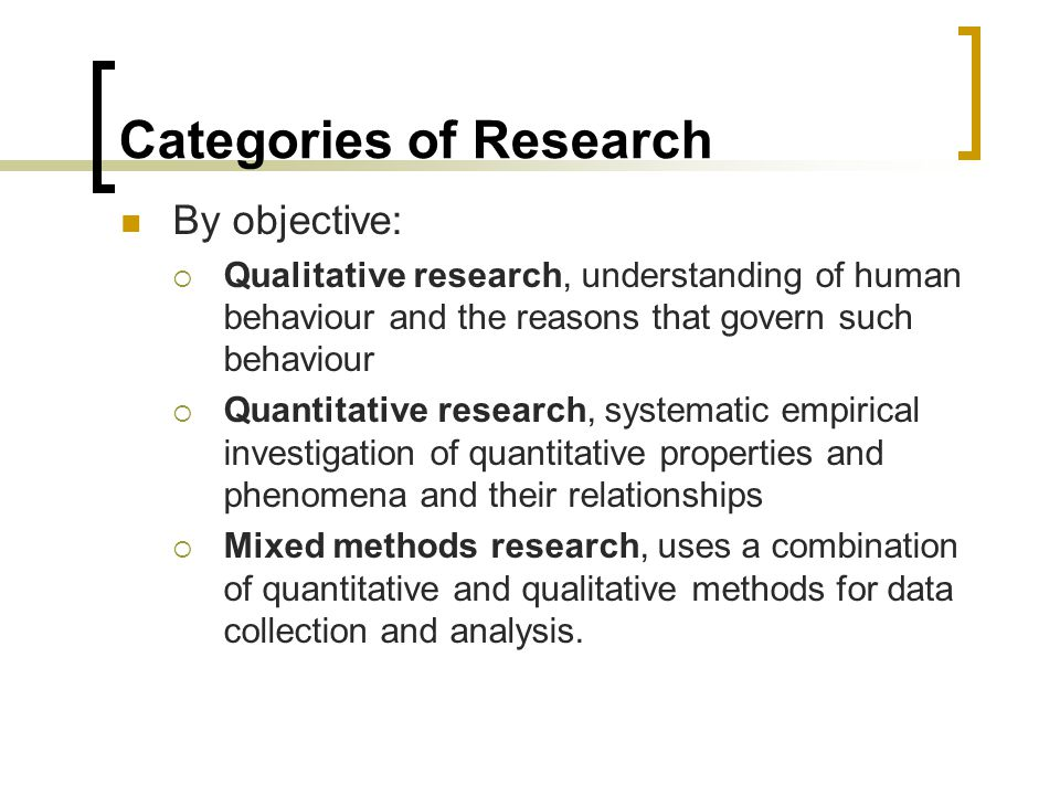 Data Collection Quantitative Methods