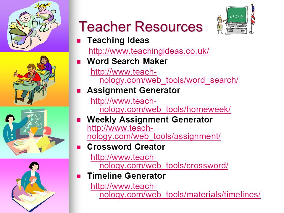 teacher resource websites Shop for the best learning supplies, classroom decorations, and new ideas created and approved by teachers for over 40 years.