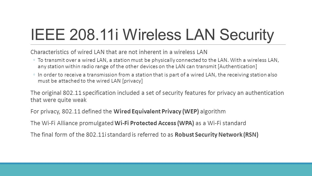 Wireless LAN Security Assessments Steps