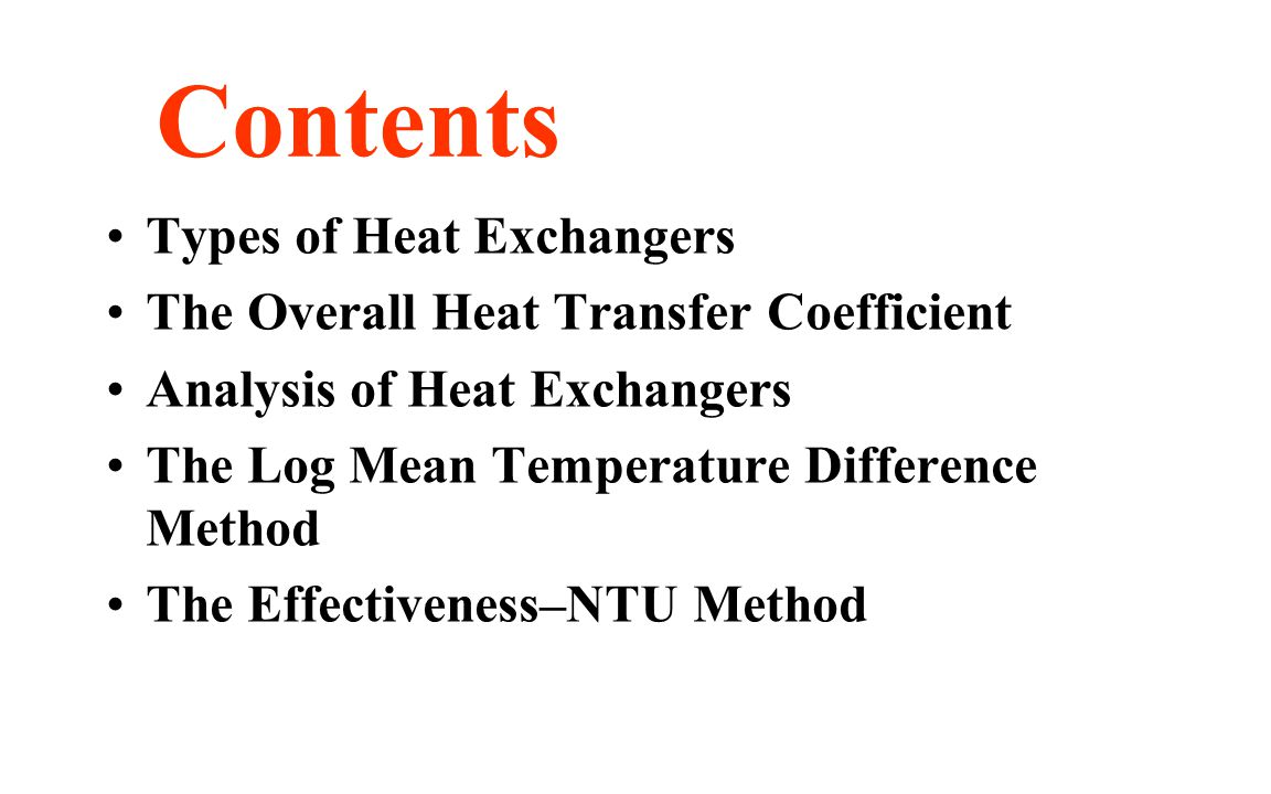 heat exchangers lecture pdf
