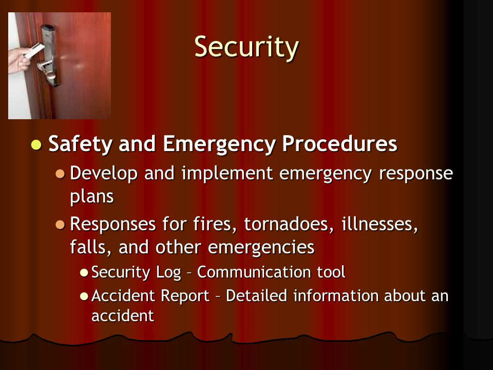 develop policies and procedures for accidents illness and emergencies 12 policies develop policies and procedures for accidents, illness & emergencies, behaviour, safeguarding and equal opportunities and explain how these will be implementedi have written up the above procedures to suit myself and my home.