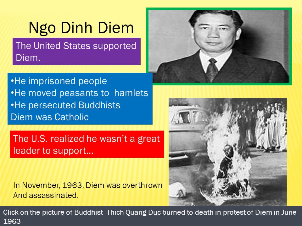 a biography of ngo dinh diem and the american involvement in the vietnam war Sponsored by the foreign policy research institute to the new government of ngo dinh diem that plunged america into the vietnam war (new.