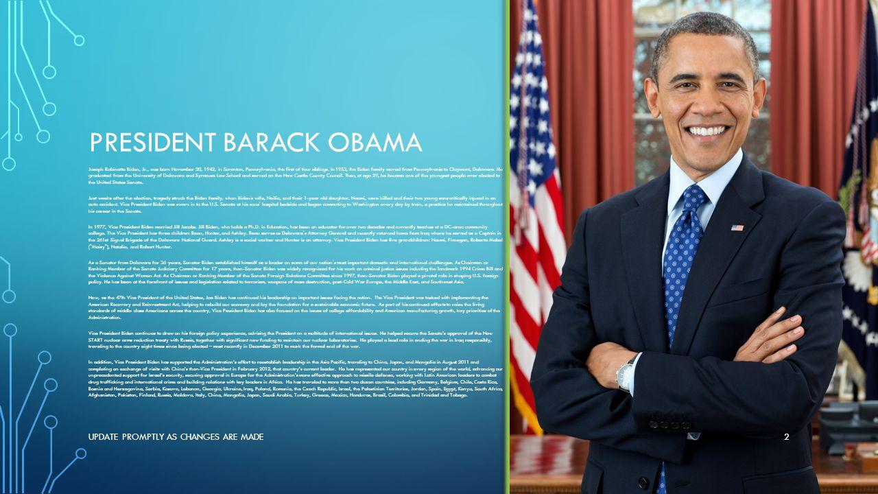 Joe Biden In Israel >> AFJROTC National and air force key leaders - ppt download