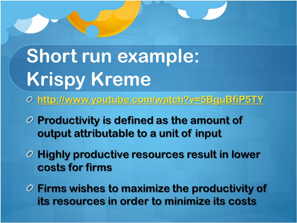 krispy kreme fixed and variable cost 1 answer to identify each of the following costs in terms of its cost behavior—variable, fixed, mixed, or step  electricity cost at a krispy kreme doughnuts store.