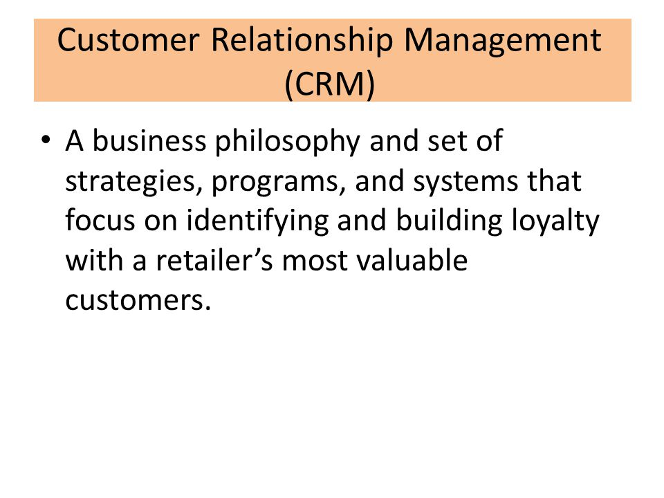 The role and responsibilities of a customer relationship manager
