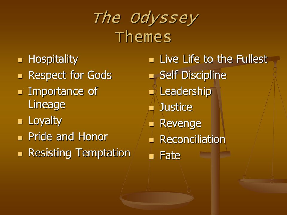 the odyssey temptation Avoiding the siren temptation trap: a lesson from homer by jonathan mclatchie | 10155 share this entry share on facebook share on twitter  (such as the odyssey.