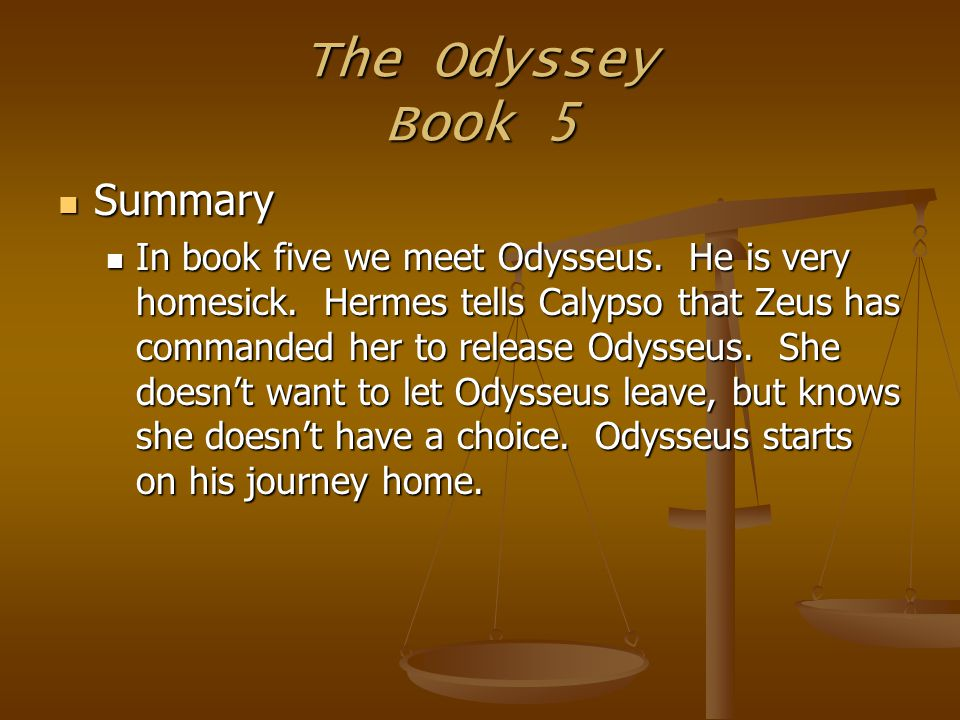 an analysis of odysseus in the odyssey by homer Hey guys, today i thought i would give an in-depth analysis of homer's odyssey, and the character odysseus please feel free to post your comments.