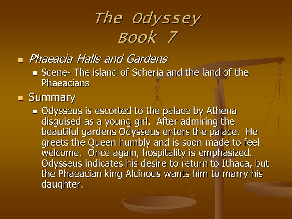 a summary of the odyssey A sand county almanac aldo leopold pp 104-108 odyssey x had marked time in the limestone ledge since the paleozoic seas covered the land time, to an atom locked.