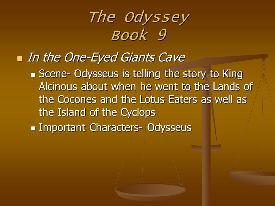 the odyssey 6 essay Tricks and treats to help with the odyssey analytical essay q: we will finish the odyssey a week before consult the transition words list on p 6 in your.