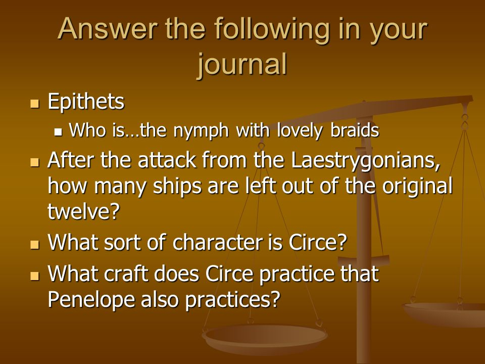 Why Does Odysseus Leave Circe S Island