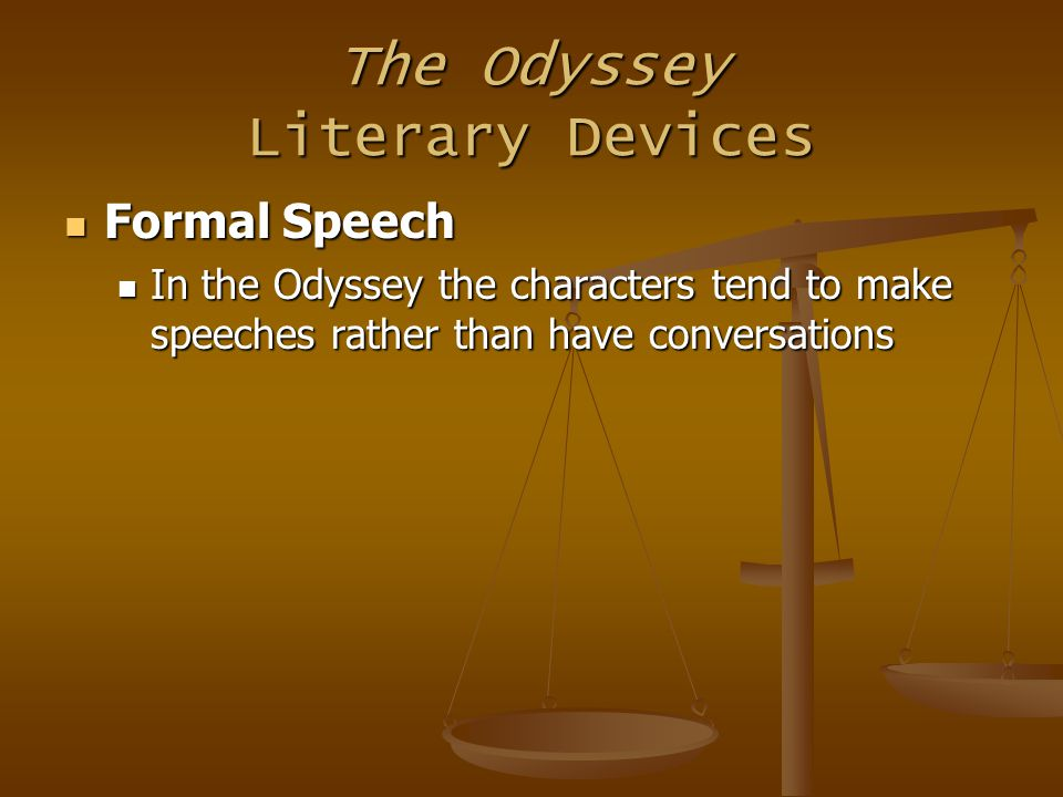 a comparison of characters in the odyssey by homer Use of disguises in odyssey the characters' use of disguises in homer's  odyssey is a crucial element that helps to catalyze the victory of good over evil.