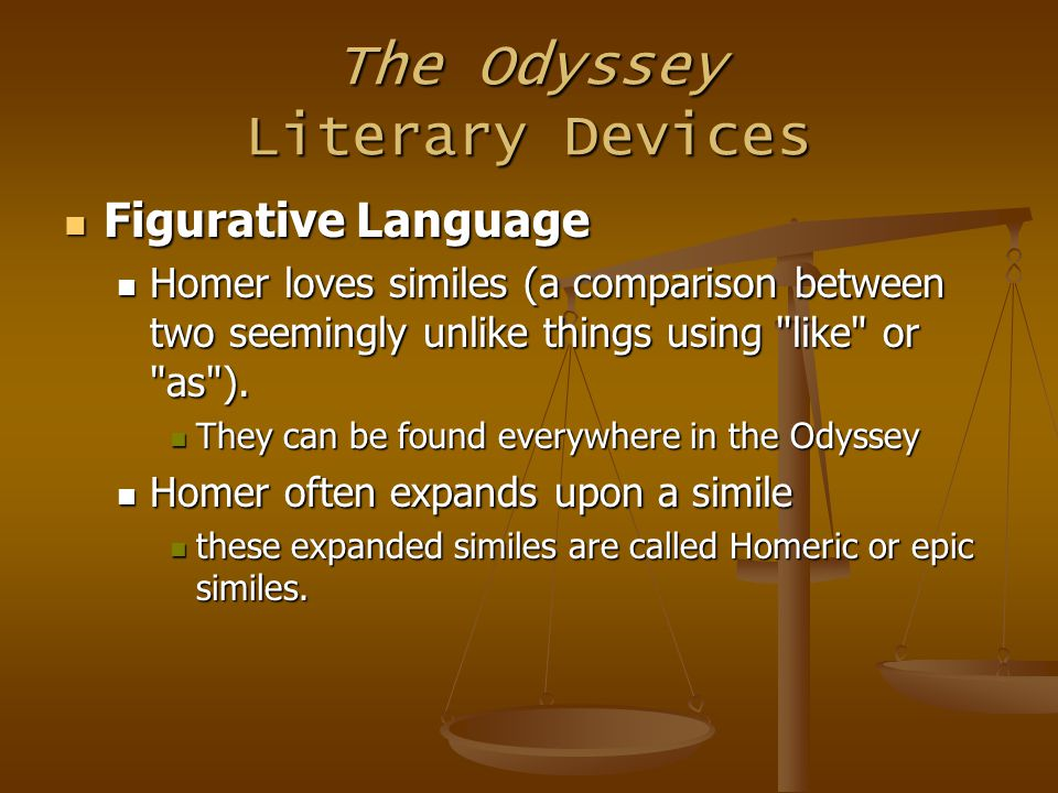comparison of the oddyessy by homer What do these differences reveal about the different values of romans (vergil)  and the greeks (homer) consider aeneas' internal struggle.