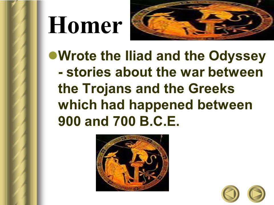 an overview of the heroes in the epic poem the iliad by homer Text: iliad/odyssey homer/gillian cross  special or stand out and they often become heroes  epic poem (paraphrased.