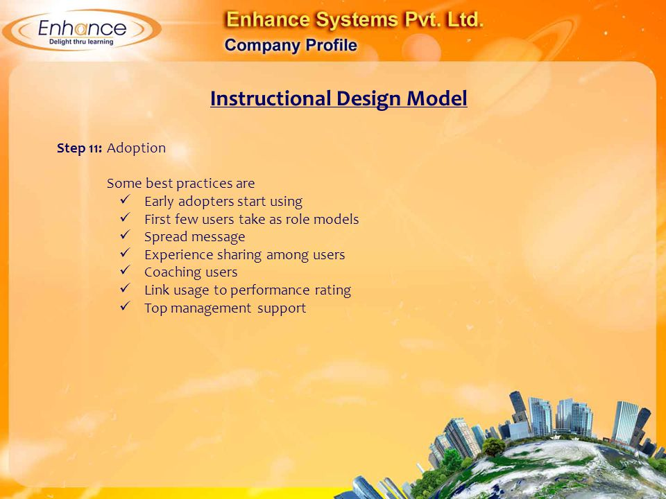 instructional systems design training courses