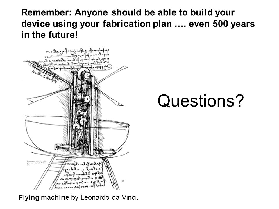 Essay questions for leonardo da vinci