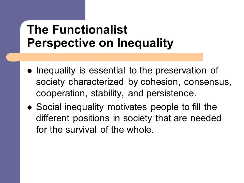 the persistence of inequality in society Book explodes the belief that america is now a color-blind society  racism  without racists: color-blind racism and the persistence of racial inequality in.