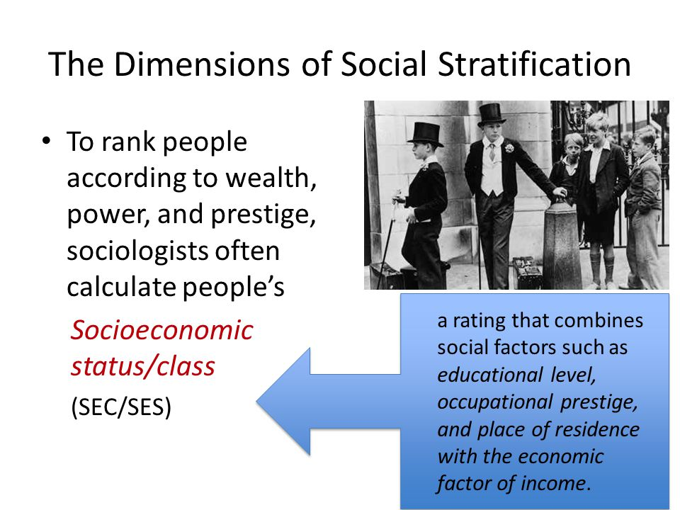 the key factors for social stratification sociology essay Sociological theory/conflict theory below are some of the key terms employed in social conflict theories social stratification.