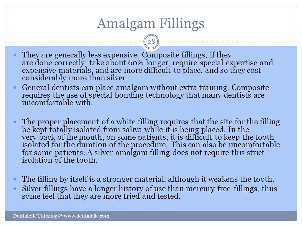 Amalgam Fillings