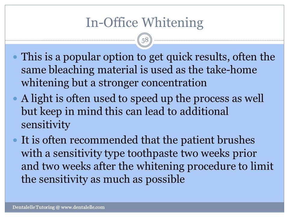 In-Office Whitening