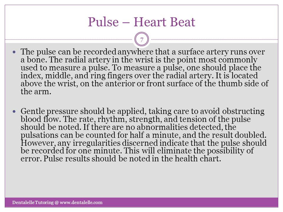 Pulse – Heart Beat