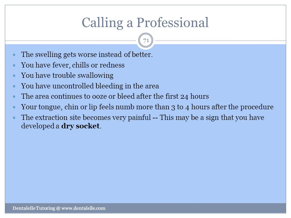 Calling a Professional