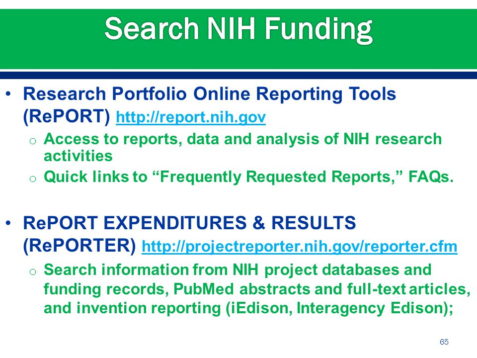 Current Issues at NIH Michelle Bulls, Director - ppt download