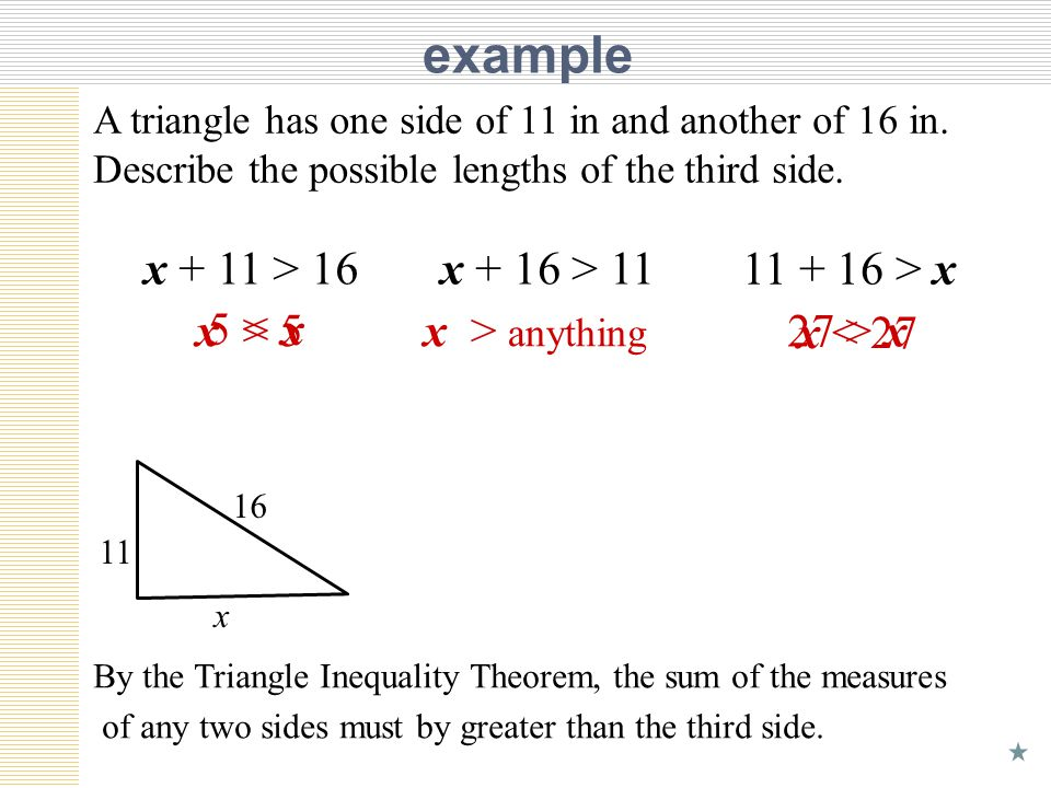 Unit 6 Lesson 6 Inequalities in One Triangle ppt download – Triangle Inequality Worksheet