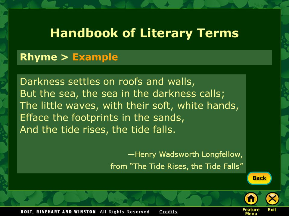 Literary elements riders of the sea