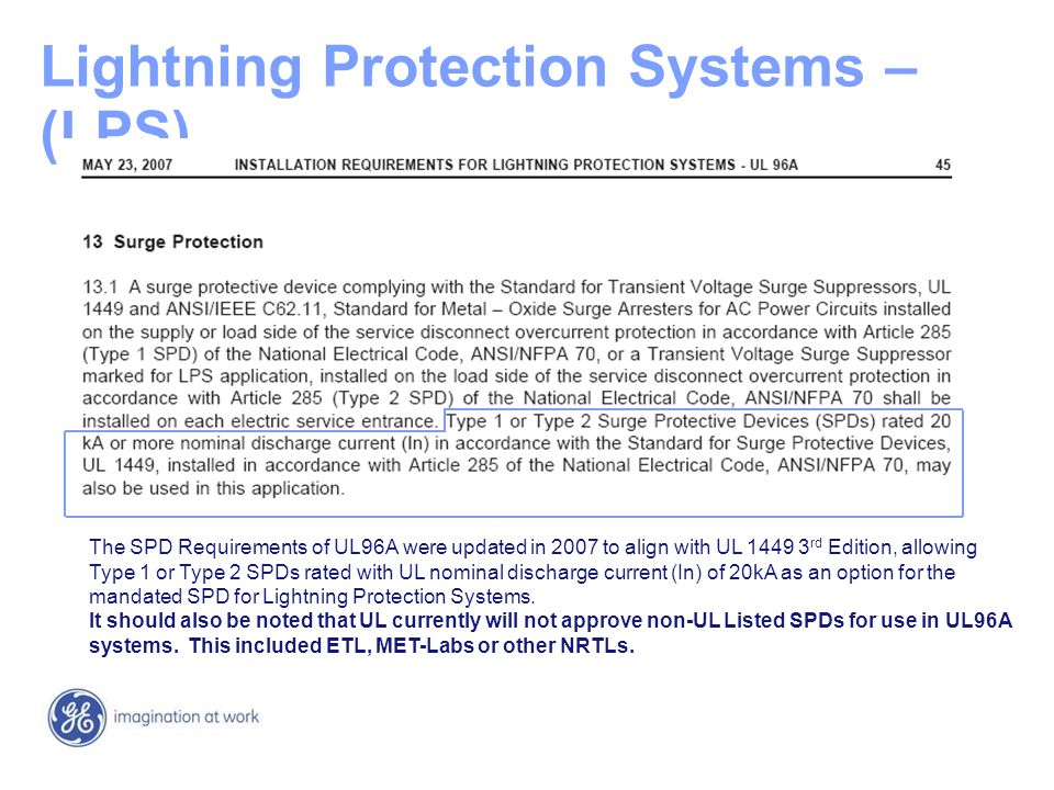 Lightning+Protection+Systems+%E2%80%93+%28LPS%29 surge protective devices ppt video online download UL 1449 Symbol at n-0.co